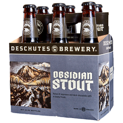 Deschutes - Obsidian Stout- 6pk - Beernow.us - Ross Beverage