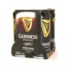 Guinness Draught 4-pk can - Beernow.us - Ross Beverage