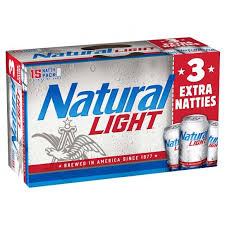 Natural Light 15-pk can - Beernow.us - Ross Beverage