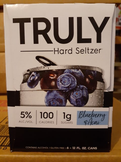 Truly - BlueBerry 6-pk - Beernow.us - Ross Beverage