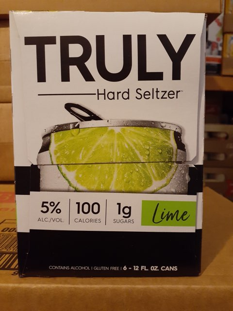 Truly - Lime 6-pk - Beernow.us - Ross Beverage