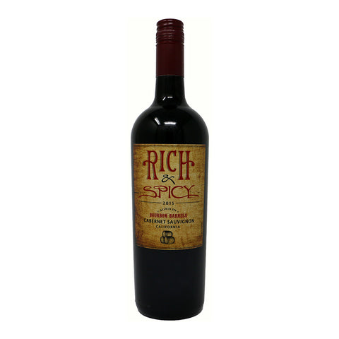 Rich & Spicy - Bourbon Barrel Aged Cabernet