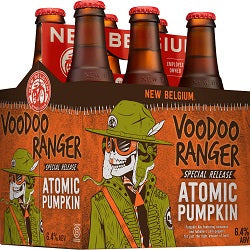 New Belgium Atomic Pumpkin Ale 6 pk - Beernow.us - Ross Beverage