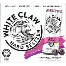White Claw - Black Cherry 6-pk - Beernow.us - Ross Beverage