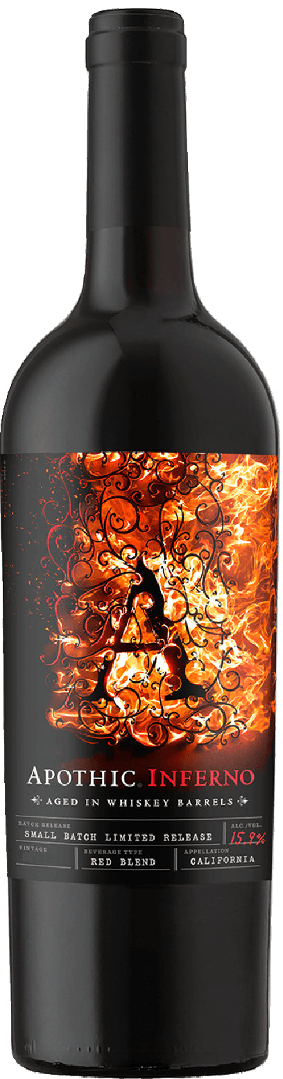 Apothic - Inferno Red Wine - Beernow.us - Ross Beverage