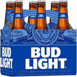 Bud Light - 6 pk-btl