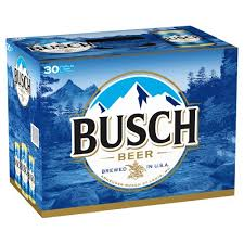 Busch 30-pk can - Beernow.us - Ross Beverage