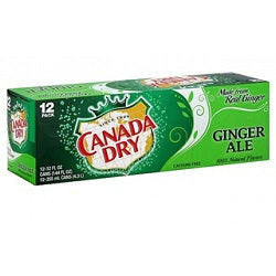 Canada Dry Ginger Ale 12 pk cans - Soda - Beernow.us - Ross Beverage