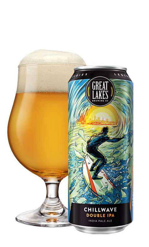 Great Lakes - Chillwave double IPA - 4 pk 16oz cans