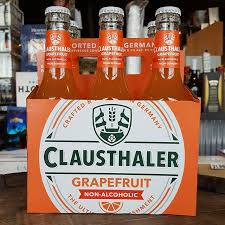 Clausthaler - Grapefruit Non Alcoholic Beer - Beernow.us - Ross Beverage