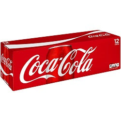 Coke 12 pk cans - Soda