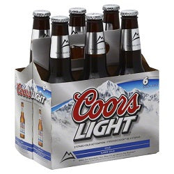 Coors Light - 6 ptl - Beernow.us - Ross Beverage