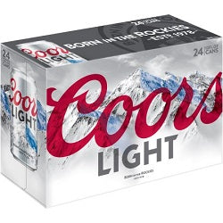 Coors Light - 24 pk-cans - Beernow.us - Ross Beverage