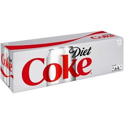 Diet Coke 12 pk cans - Soda - Beernow.us - Ross Beverage