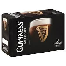 Guinness Draught 8-pk can - Beernow.us - Ross Beverage