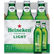 Heineken Light 6-pk - Beernow.us - Ross Beverage