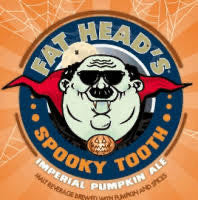 Fat Heads - Spooky Tooth Pumpkin Head - 4-pk