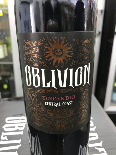 Oblivion 2017 Zinfandel - 91 POINTS ( SAVE $ 20 ) - Only 36 bottles