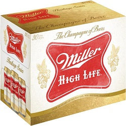Miller High Life - 12 pk cans - Beernow.us - Ross Beverage
