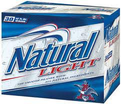 Natural Light 30-pk can - Beernow.us - Ross Beverage