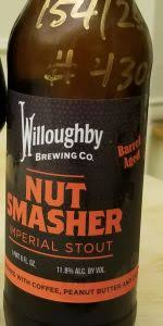 Willoughby Brewing - Nut Smasher - Limit 1 bottle per customer - Beernow.us - Ross Beverage