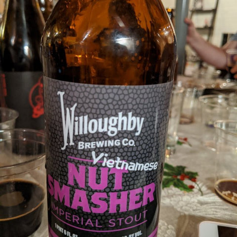 Willoughby Brewing - Nut Smasher Vietnamese - Limit 1 bottle - Beernow.us - Ross Beverage