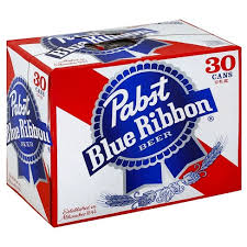 Pabst 30-pk can - Beernow.us - Ross Beverage
