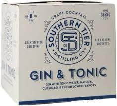 Southern Tier Gin & Tonic - pk - Beernow.us - Ross Beverage