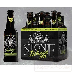 Stone Delicious  IPA 6pk cans - Beernow.us - Ross Beverage