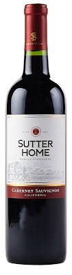 Sutter Home - Cabernet Sauvignon 750ml - Beernow.us - Ross Beverage