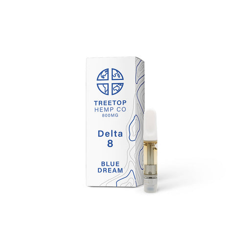Treetop Delta 8 Cartridge - Blue Dream - 1 gram