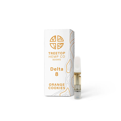 Treetop Delta 8 Cartridge - Orange Cookies - 1 gram