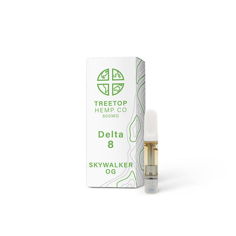 Treetop Delta 8 Cartridge -Skywalker OG - 1 gram