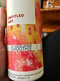 Untitled Art - Strawberry Banana Smoothie