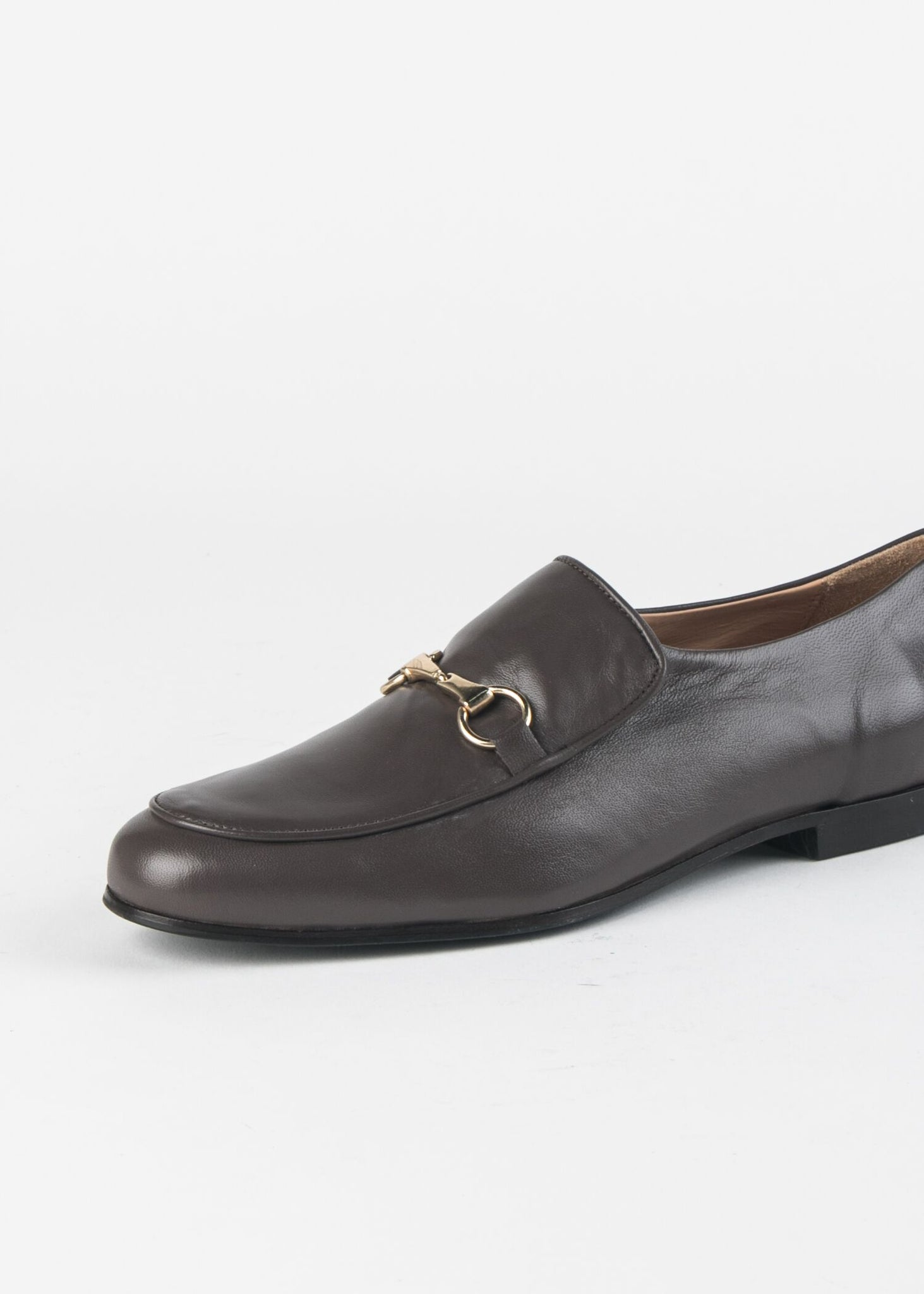 LEATHER LOAFER WITH  BIT