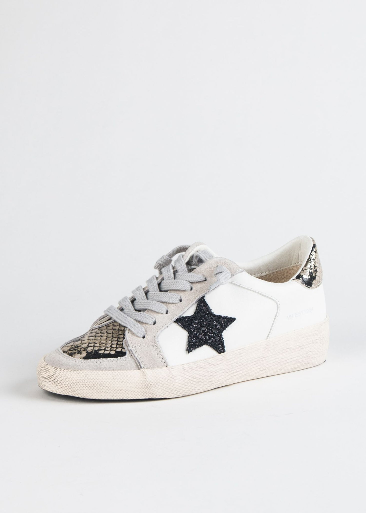 BONNIE MULTI MEDIA DISTRESSED SNEAKER