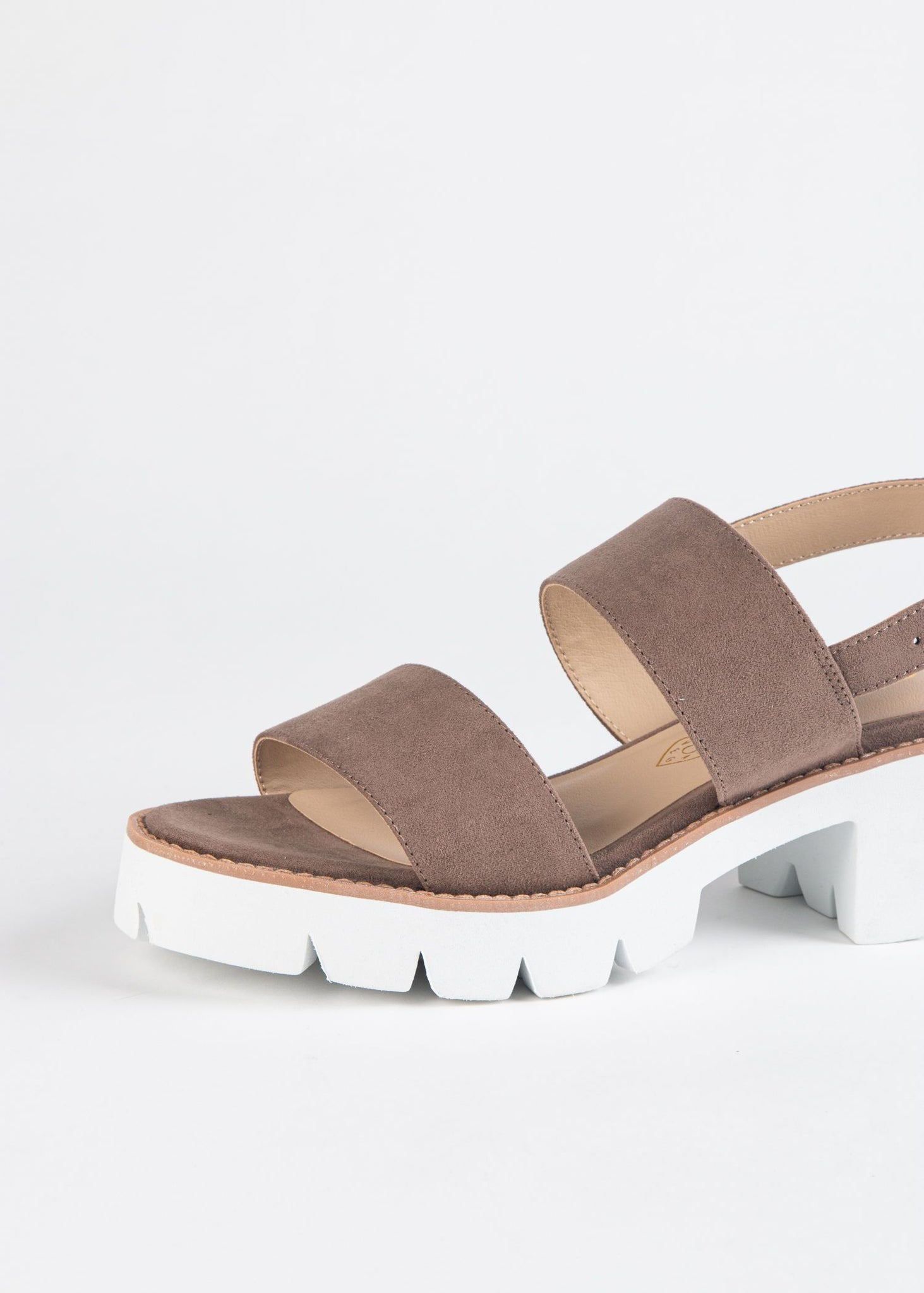 LEFT UNSAID DOUBLE STRAP SANDAL
