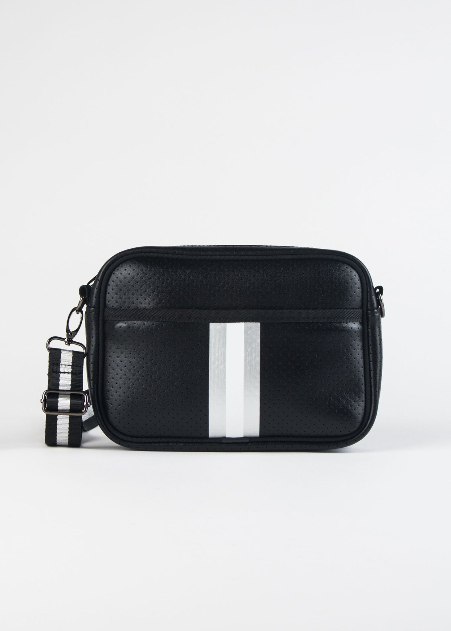 DREW-UPTOWN NEOPRENE CAMERA BAG WITH STRIPE