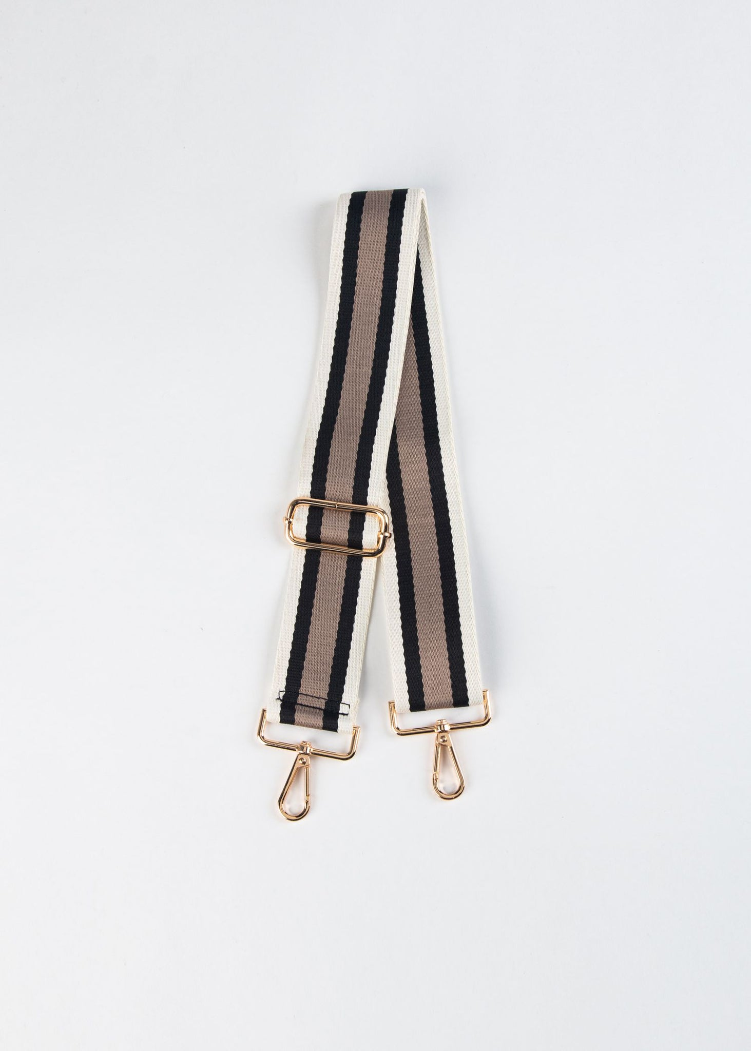 ADJUSTABLE STRIPED BAG STRAP