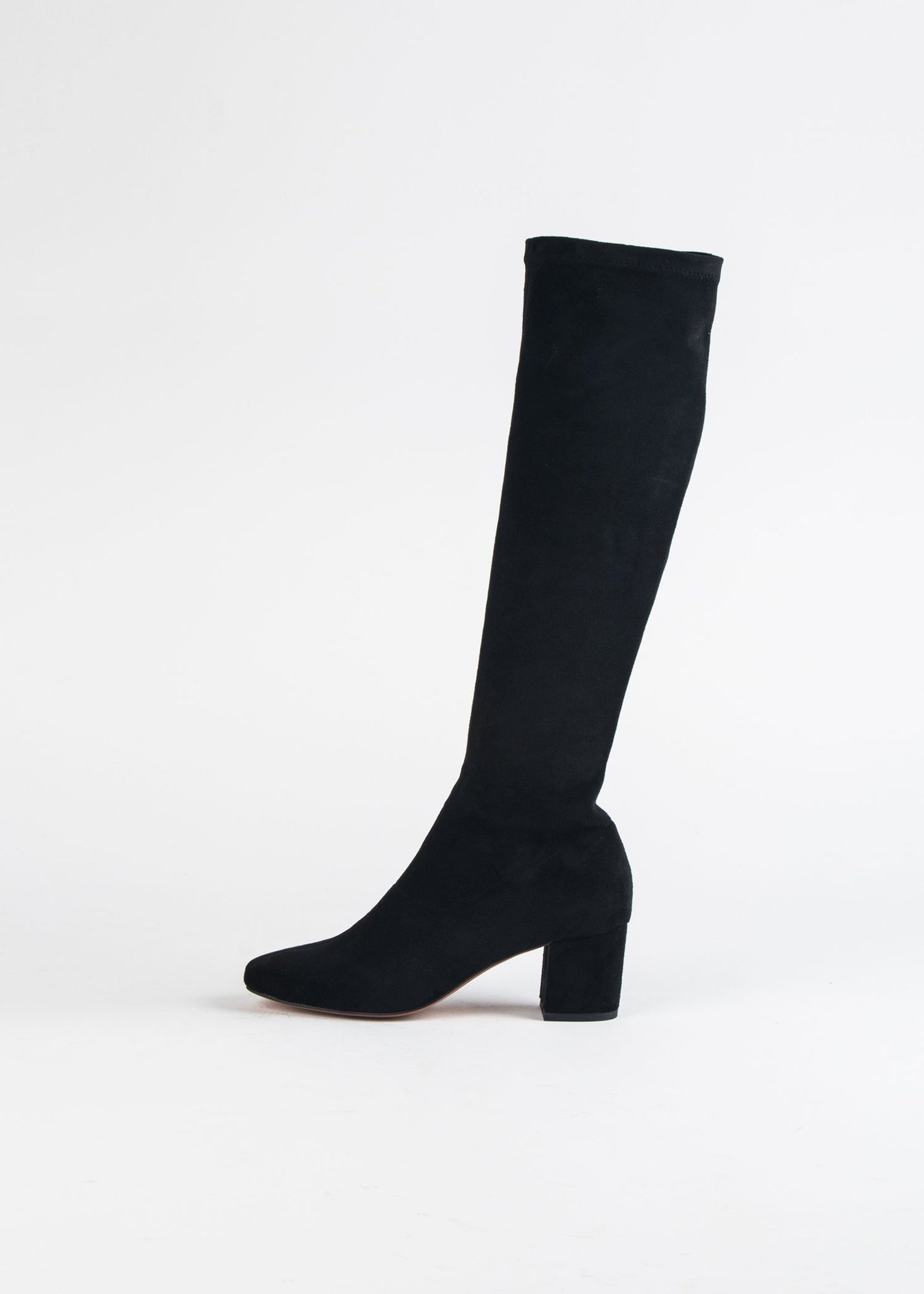 COMESS STRETCH KNEE HI BOOT