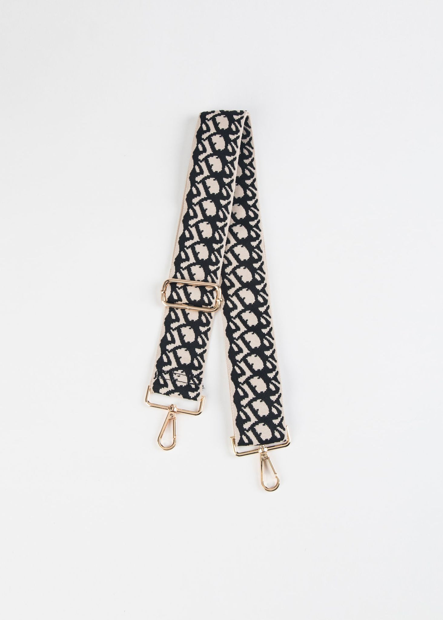 COTTON PRINT ADJUSTABLE HANDBAG STRAP