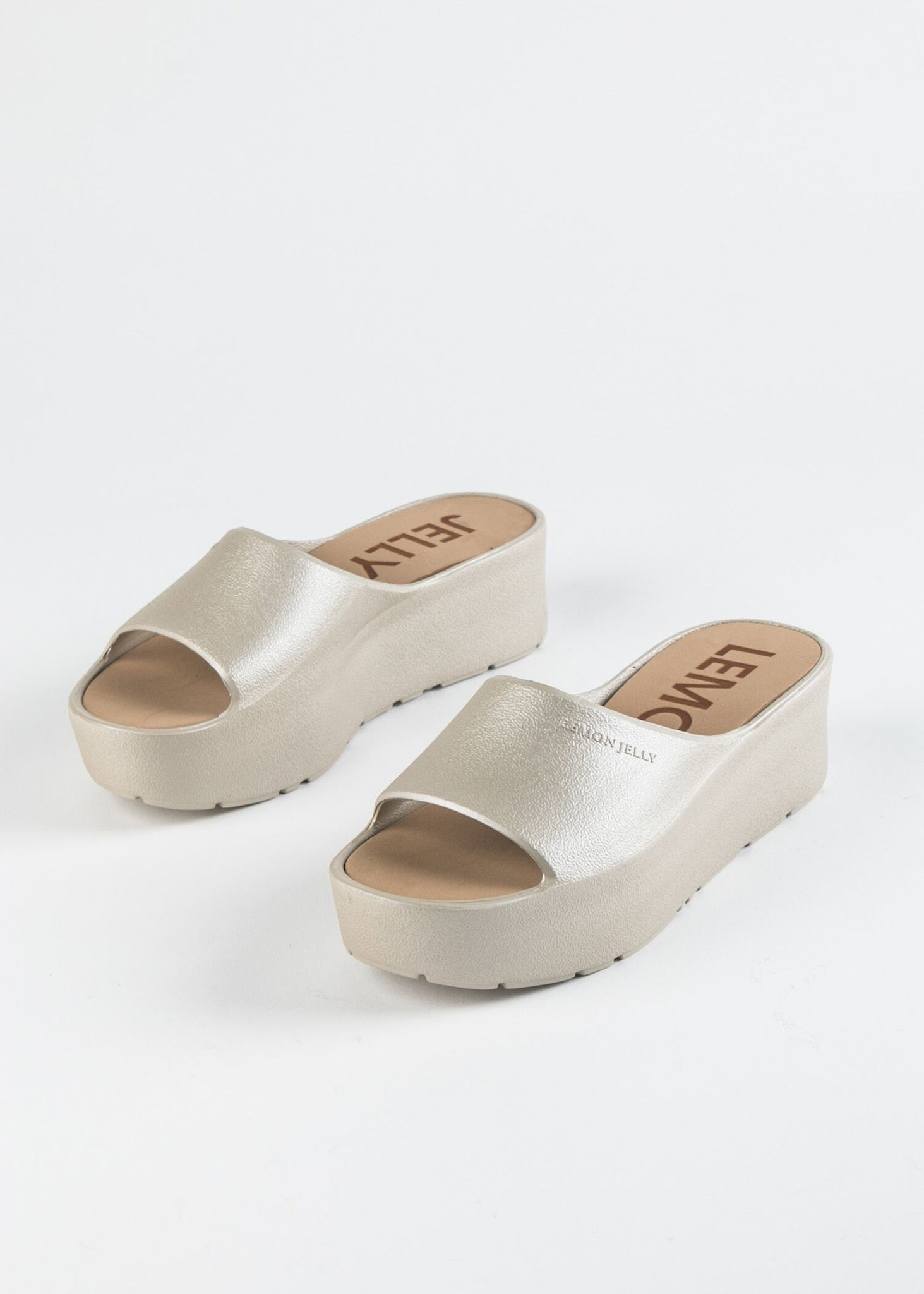 SUNNY SINGLE BAND JELLY PLATFORM SANDAL
