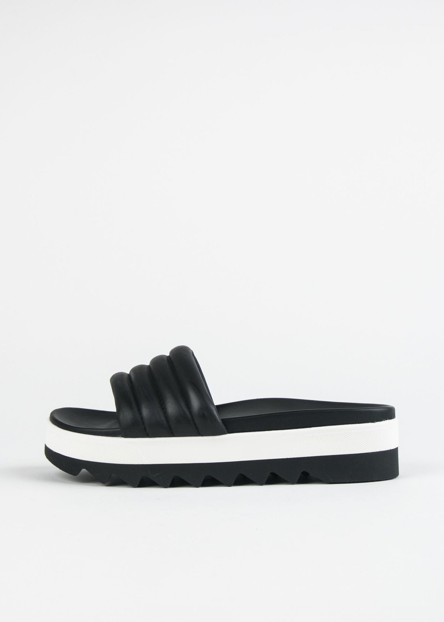 PRATO PADDED OPEN TOE SLIDE