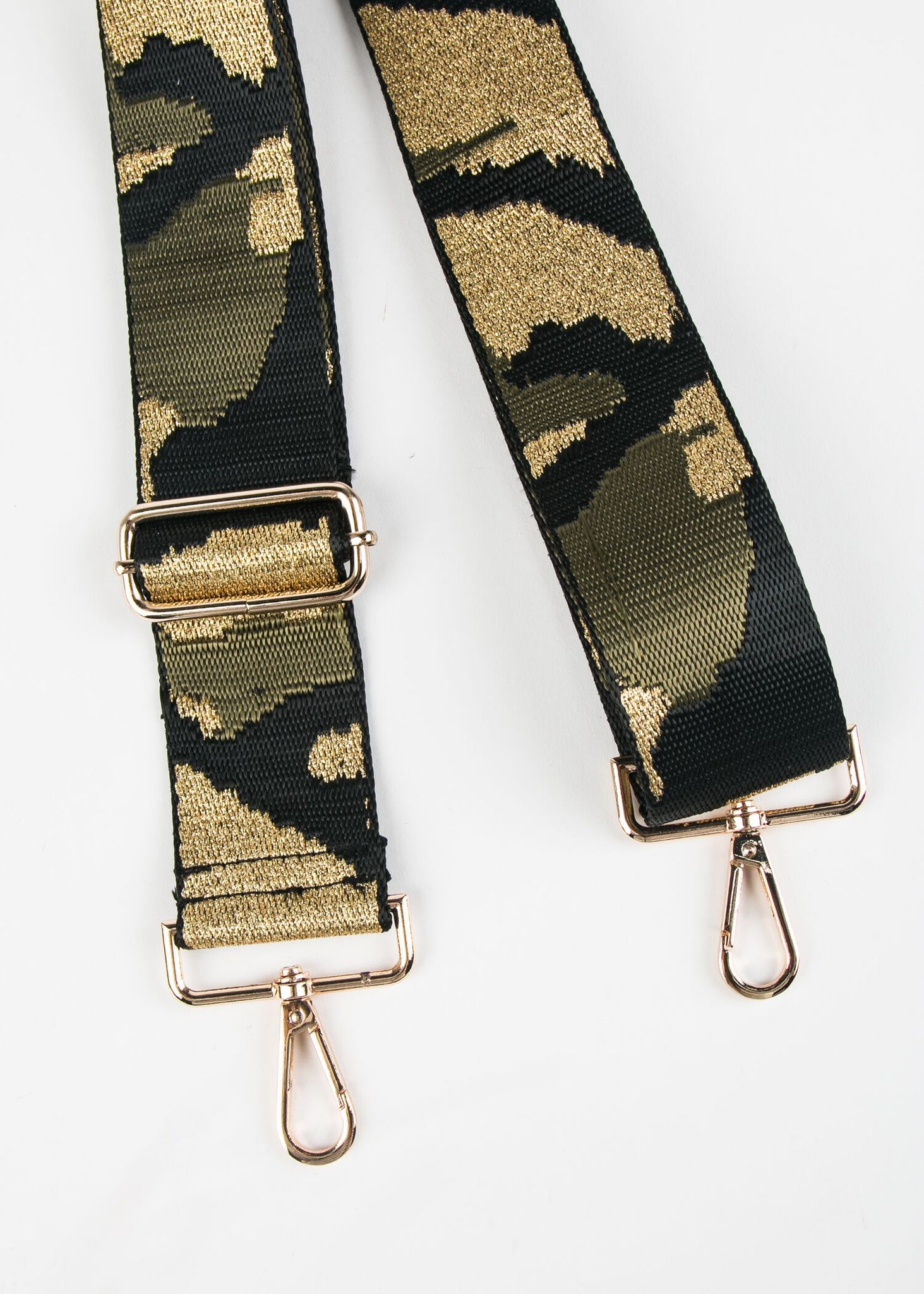 ADJUSTABLE CAMOUFLAGE GUITAR STRAP