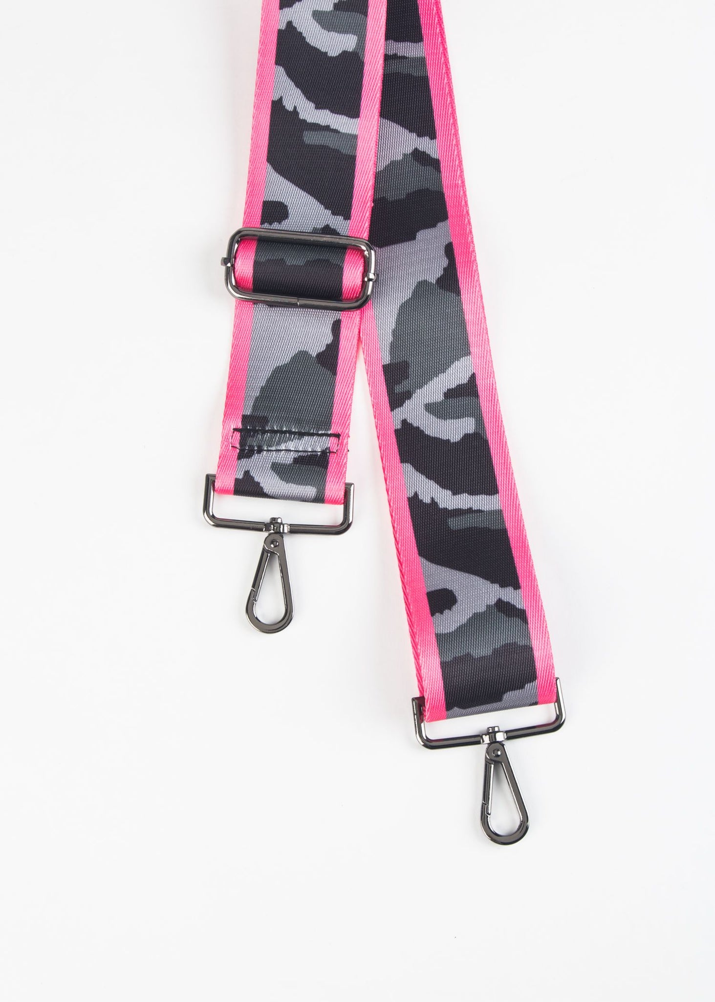 ADJUSTABLE CAMO HANDBAG STRAP