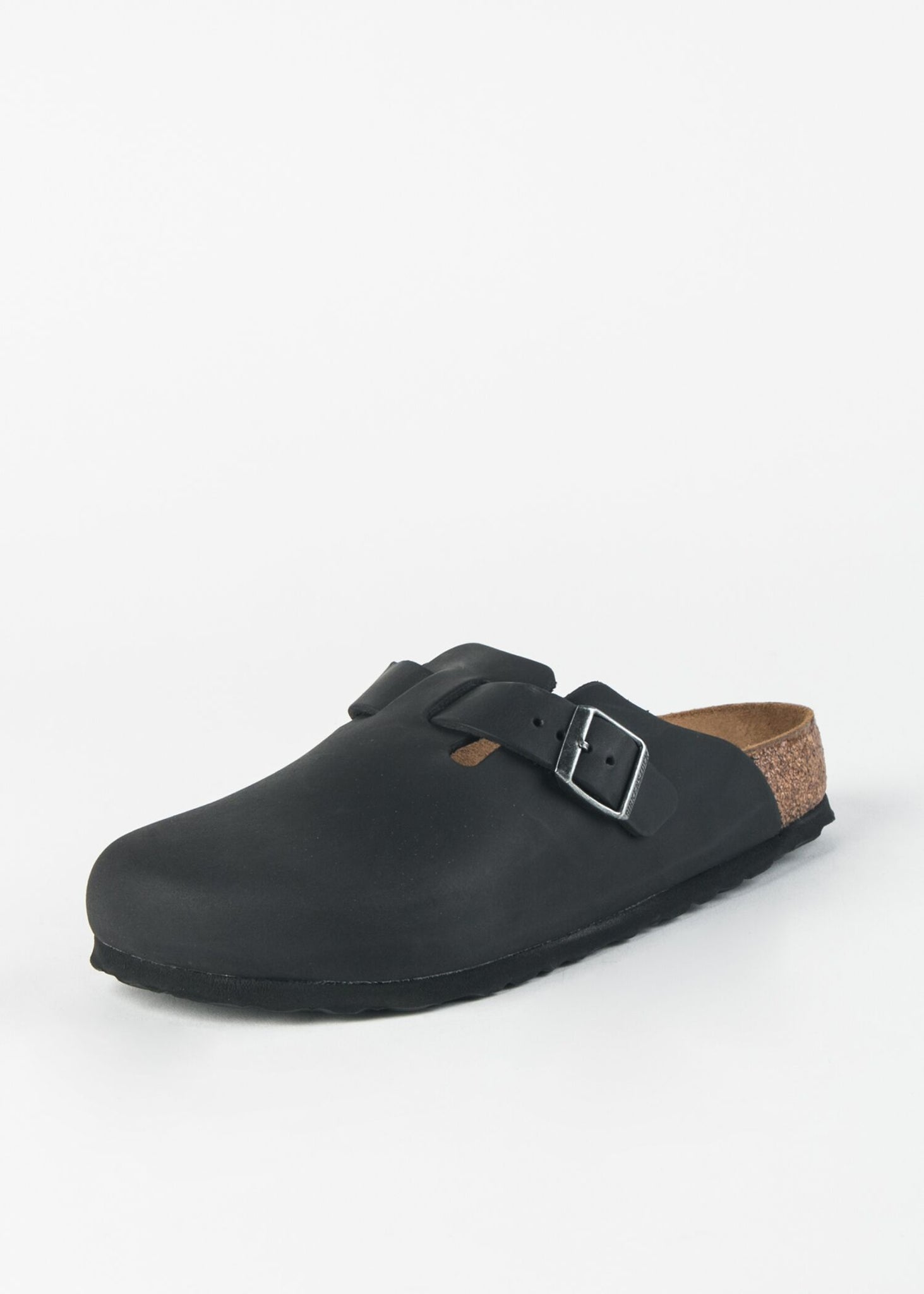 BOSTON LEATHER MULE
