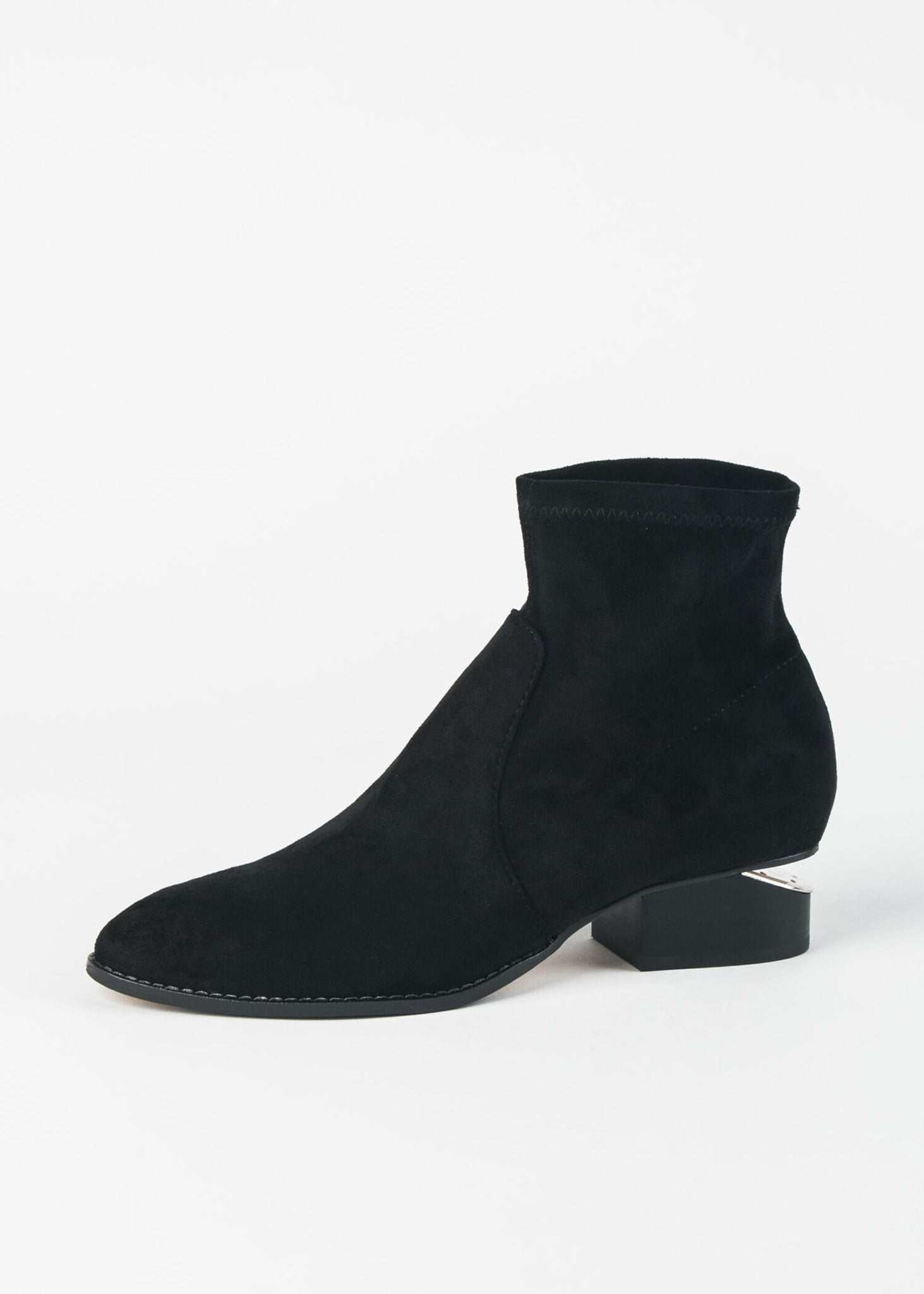 IKER ALMOND TOE SOCK BOOTIE