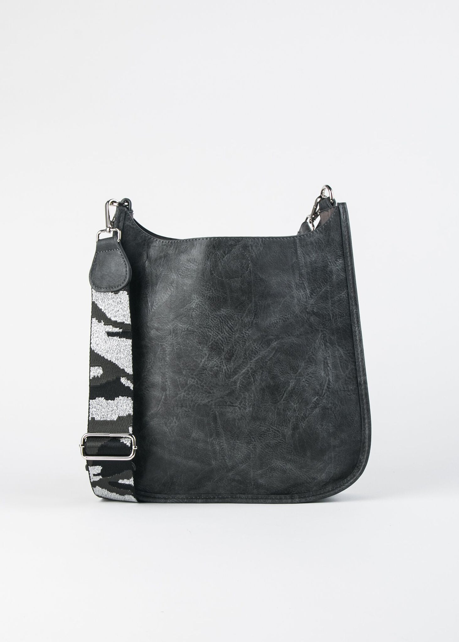 VEGAN CROSSBODY W/ GUITAR STRAP
