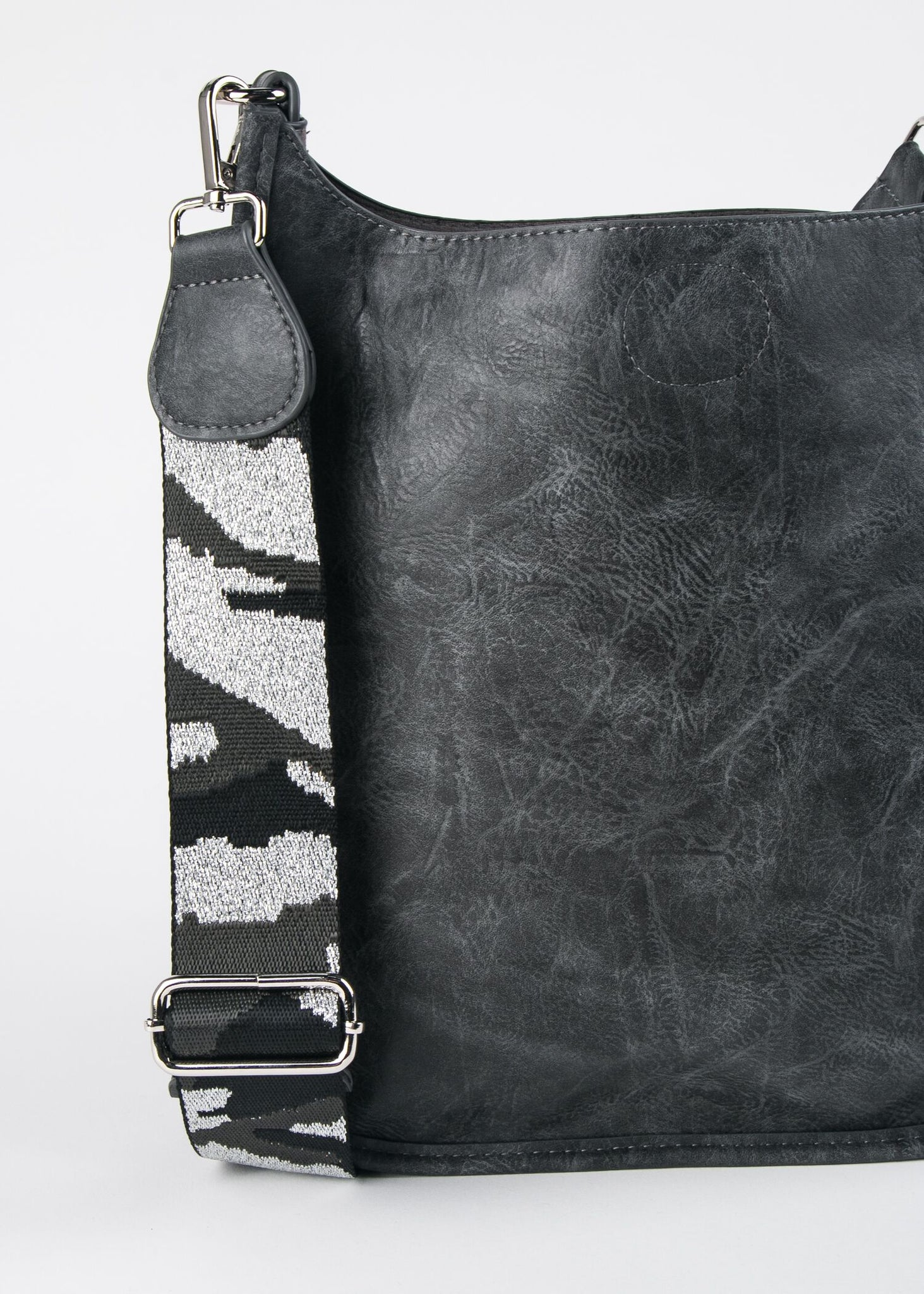VEGAN CROSSBODY W/GUITAR STRAP