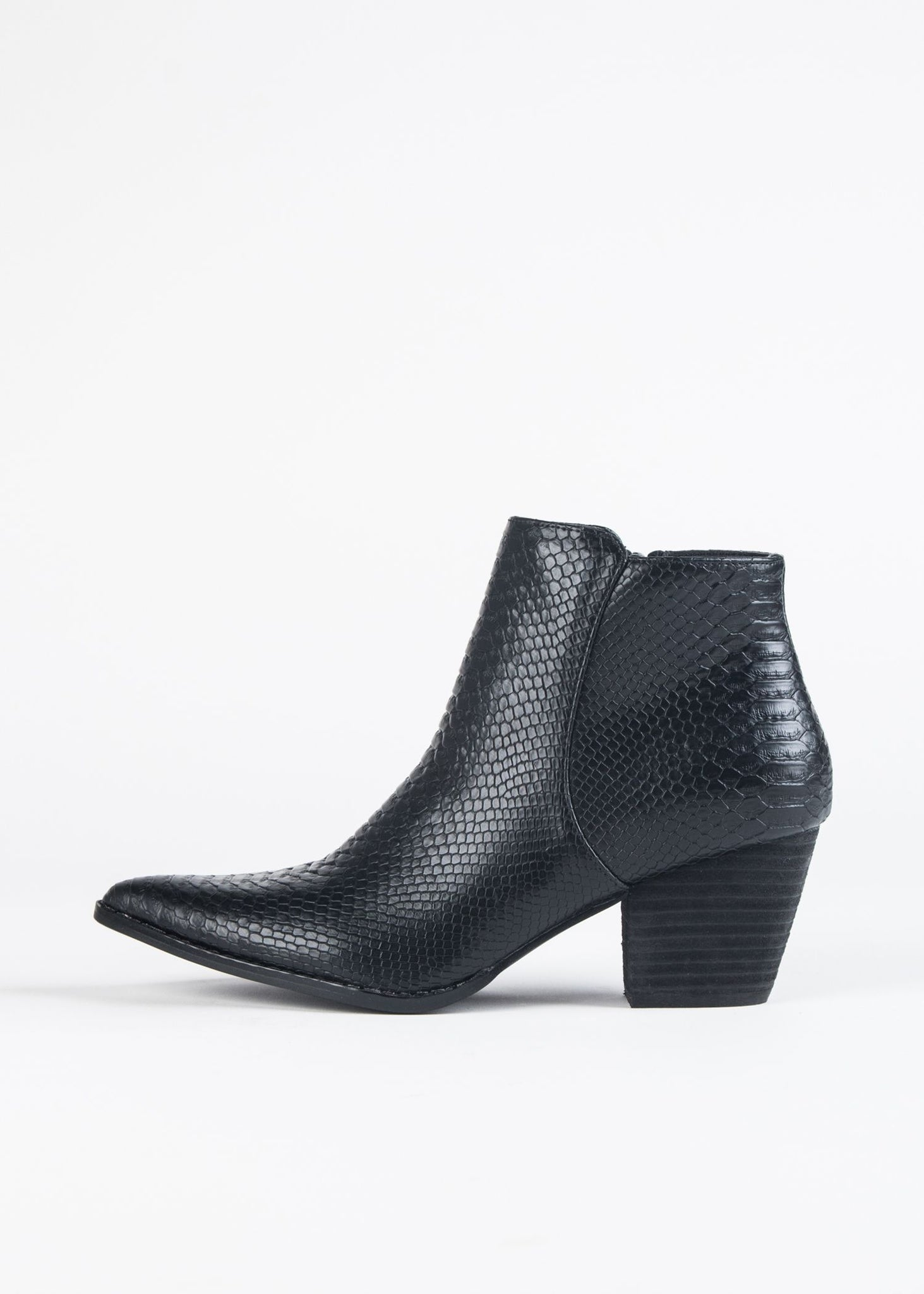 ASTORIA SNAKESKIN BOOT